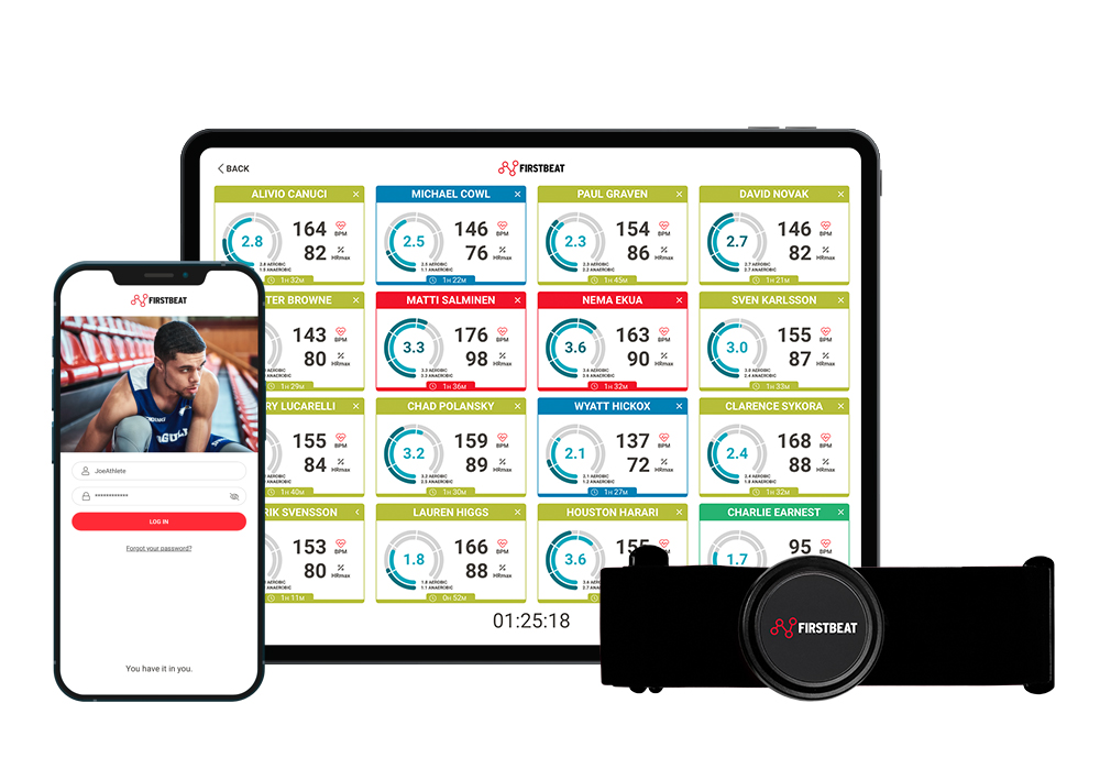 Firstbeat Sports Sensor and Live app