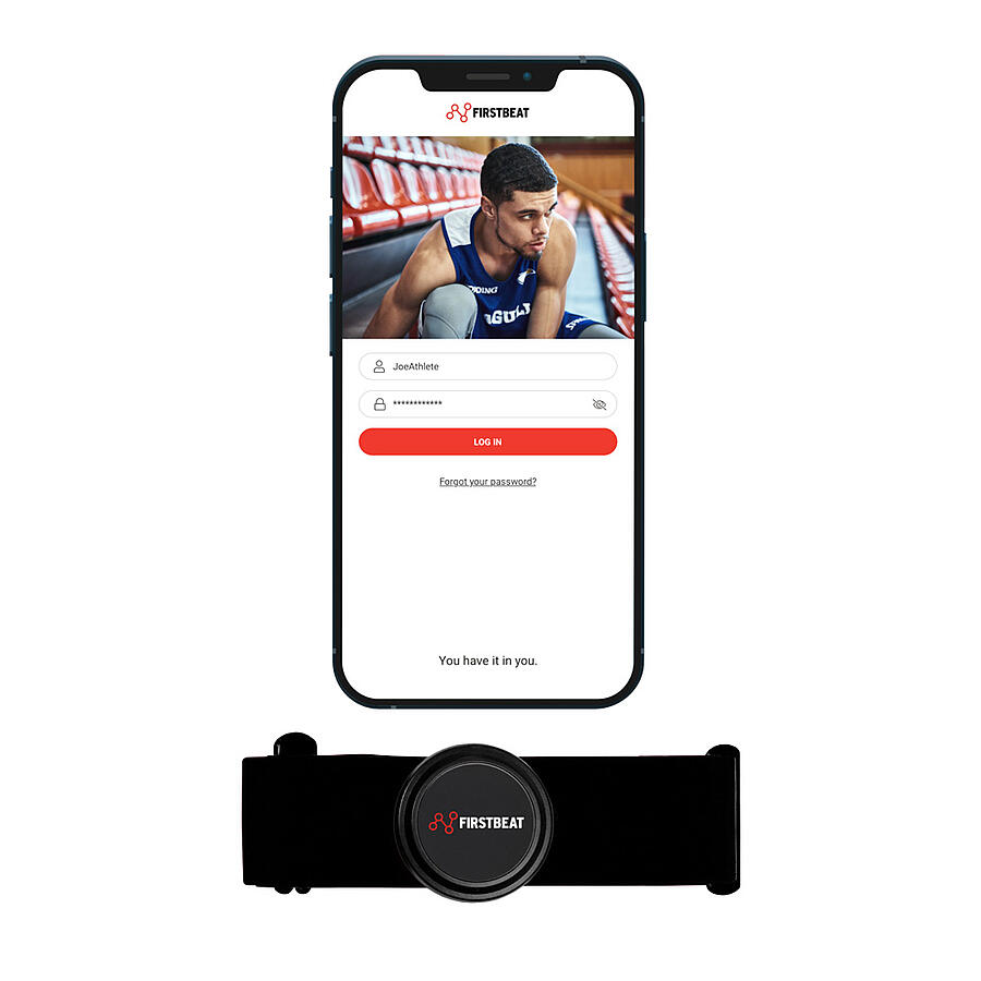 Firstbeat Sports app for Athletes