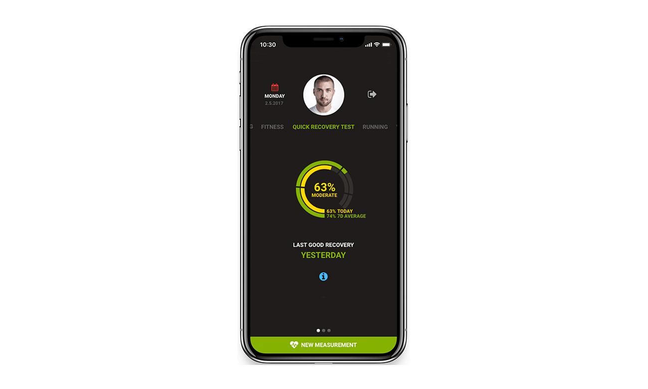 Firstbeat Sports App (iPhone)